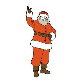 サンタクロース イラスト(クリスマス、プレゼント)