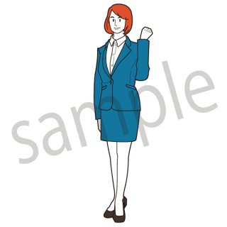 新入社員の女性(女,ビジネスウーマン,フレッシュ)