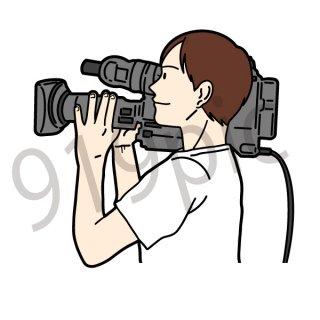 カメラマン(仕事,テレビ,撮影,仕事)