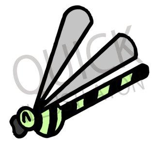 トンボ イラスト(虫、昆虫、生き物)