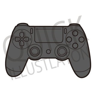 ゲーム機のコントローラー イラスト(ゲーム、オンラインゲーム、)