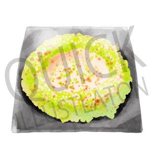 もんじゃ焼き イラスト(食べ物、料理、クッキング、和食)