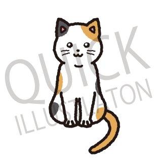 猫 イラスト(動物、アイコン、ねこ、ネコ)