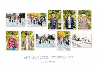 NEW ROCK SCENE IN KANSAI ランダムポストカード[YAJICO GIRL]