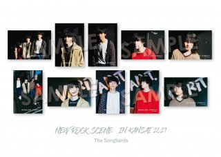 NEW ROCK SCENE IN KANSAI|ランダムポストカード[The Songbards]