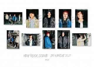 NEW ROCK SCENE IN KANSAI ランダムポストカード[POT]