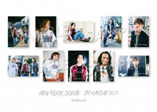 NEW ROCK SCENE IN KANSAI ランダムポストカード[Arakezuri]