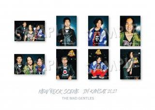 NEW ROCK SCENE IN KANSAI ランダムポストカード[THE MAD GENTLES]