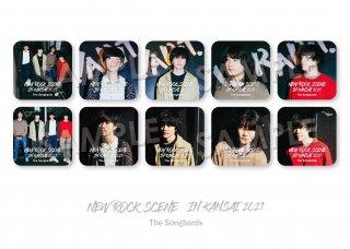 NEW ROCK SCENE IN KANSAI|ランダム缶バッジ[The Songbards]