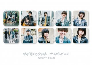 NEW ROCK SCENE IN KANSAI|ランダム缶バッジ[EVE OF THE LAIN]