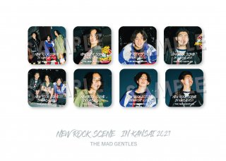 NEW ROCK SCENE IN KANSAI|ランダム缶バッジ[THE MAD GENTLES]