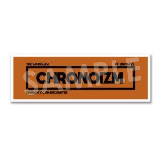 CHRONOIZM|ロゴステッカー A