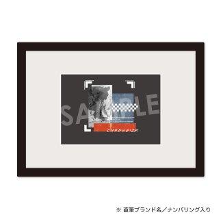 CHRONOIZM|額装品(2L size)ロゴE[ナンバリング サイン付き]