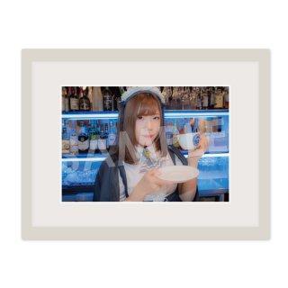 アフィリアキャスト|額装写真 A4(ユノ B)