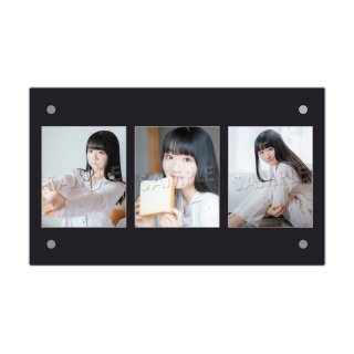 IDOL FILE Vol.21|3連額装写真[阿部夢梨|SUPER☆GiRLS]