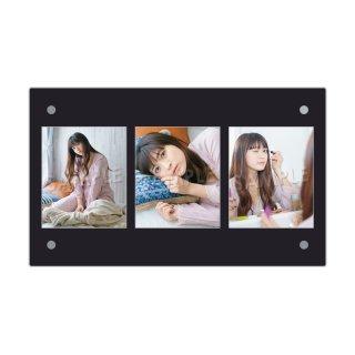 IDOL FILE Vol.21|3連額装写真[ANNA|大阪☆春夏秋冬]