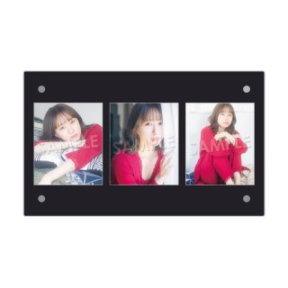 IDOL FILE Vol.21|3連額装写真[佐藤まりあ|フィロソフィーのダンス]
