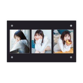 IDOL FILE Vol.21|3連額装写真[白方美羽|SPRISE]