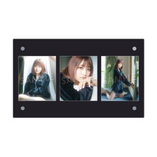 IDOL FILE Vol.21|3連額装写真[YUNA|シンデレラ宣言!]