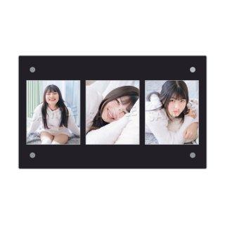 IDOL FILE Vol.21|3連額装写真[吉田優良里|マジカル・パンチライン]