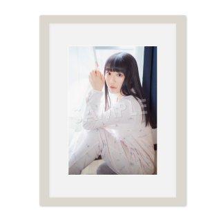 IDOL FILE Vol.21|A4額装写真[阿部夢梨|SUPER☆GiRLS]B