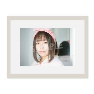 IDOL FILE Vol.21 A4額装写真[小野寺綾音 なんキニ!]B