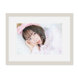 IDOL FILE Vol.21 A4額装写真[小野寺綾音 なんキニ!]D