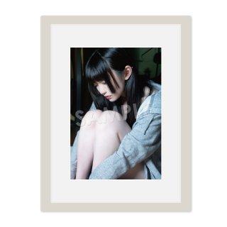 IDOL FILE 自粛女子|A4額装写真[ゆらね(じゅじゅ)]A