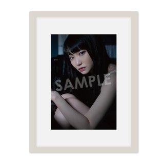 IDOL FILE 自粛女子|A4額装写真[ゆらね(じゅじゅ)]D