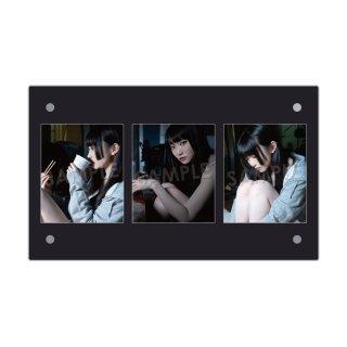 IDOL FILE 自粛女子|3連額装写真[ゆらね(じゅじゅ)]A
