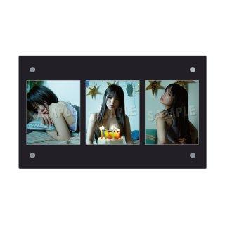 IDOL FILE 自粛女子|3連額装写真[神聖るーにゃん]A