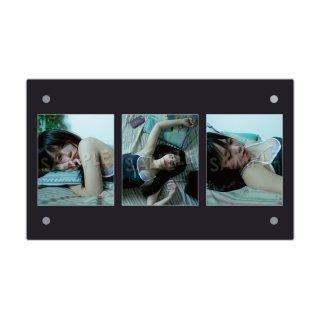 IDOL FILE 自粛女子|3連額装写真[神聖るーにゃん]B