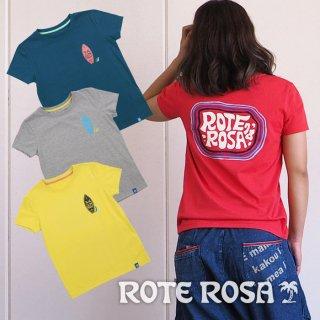 ROTE ROSA(ローテローザ) バックプリント4色Tシャツ