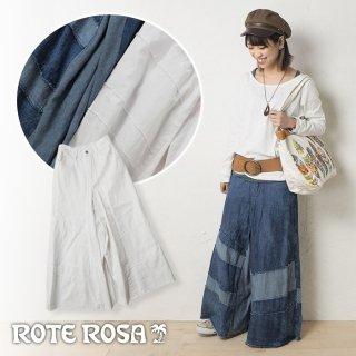 ROTE ROSA(ローテローザ)後ろスカート風ワイドパンツ