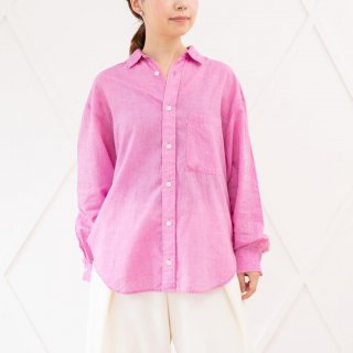 カディ エアリーシャツ(ユニセックス)ピンク