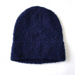 アルパカブークレニット帽子