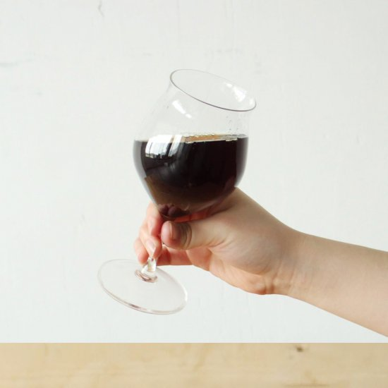 コーヒーのための<br>ワイングラス