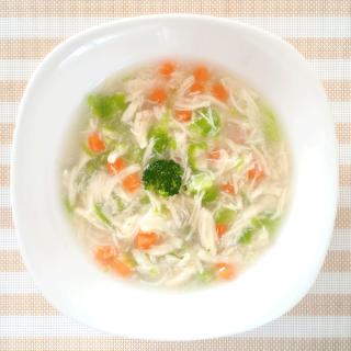 《無添加手作り》緑黄野菜とささみのスープ煮/愛犬のヘルシー野菜とスープ