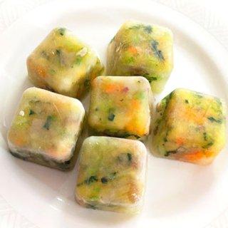 《無添加ヘルシー》ミックス野菜アイスキューブ/愛犬のヘルシー野菜とスープ