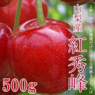 【6月15日から収穫〜】サクランボの最高峰 紅秀峰 500g化粧箱ギフト