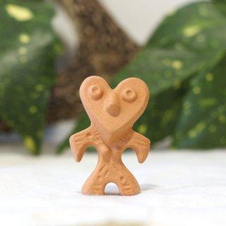 美濃焼陶器 箸置き「Heart(ハート)土偶」古代シリーズ
