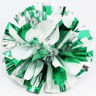 シルバー×ホワイト×グリーン