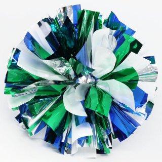 シルバー×ホワイト×グリーン×ブルー