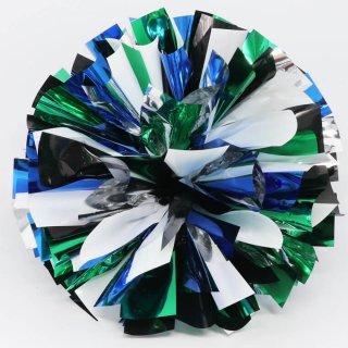 シルバー×ホワイト×ブラック×グリーン×ブルー