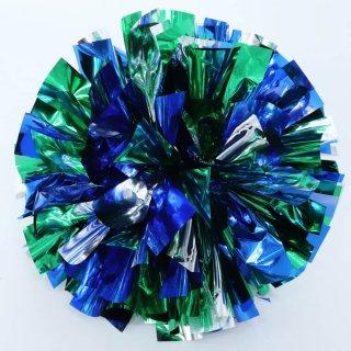 シルバー×グリーン×ブルー
