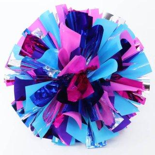 シルバー×ブルー×ライトブルー×ピンク×ライトピンク