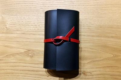 KAKURA 紐巻きバイブルシステム手帳 urushiブラック