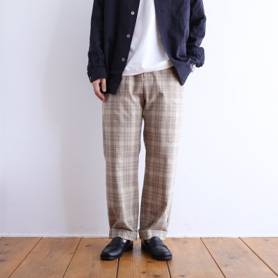 "<img class='new_mark_img1' src='https://img.shop-pro.jp/img/new/icons7.gif' style='border:none;display:inline;margin:0px;padding:0px;width:auto;' />EEL Products ""SUN PANTS (BeigeCheck)"""