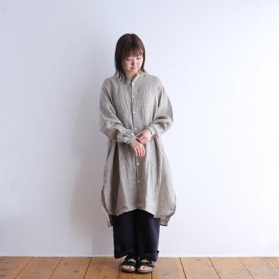 """<img class='new_mark_img1' src='https://img.shop-pro.jp/img/new/icons7.gif' style='border:none;display:inline;margin:0px;padding:0px;width:auto;' />BRENA """"TRAVAILE ONEPIECE LINEN"""""""
