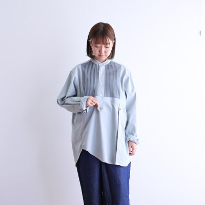 "<img class='new_mark_img1' src='https://img.shop-pro.jp/img/new/icons7.gif' style='border:none;display:inline;margin:0px;padding:0px;width:auto;' />Essentickle Re ""remake tack french shirt (mint green)"""